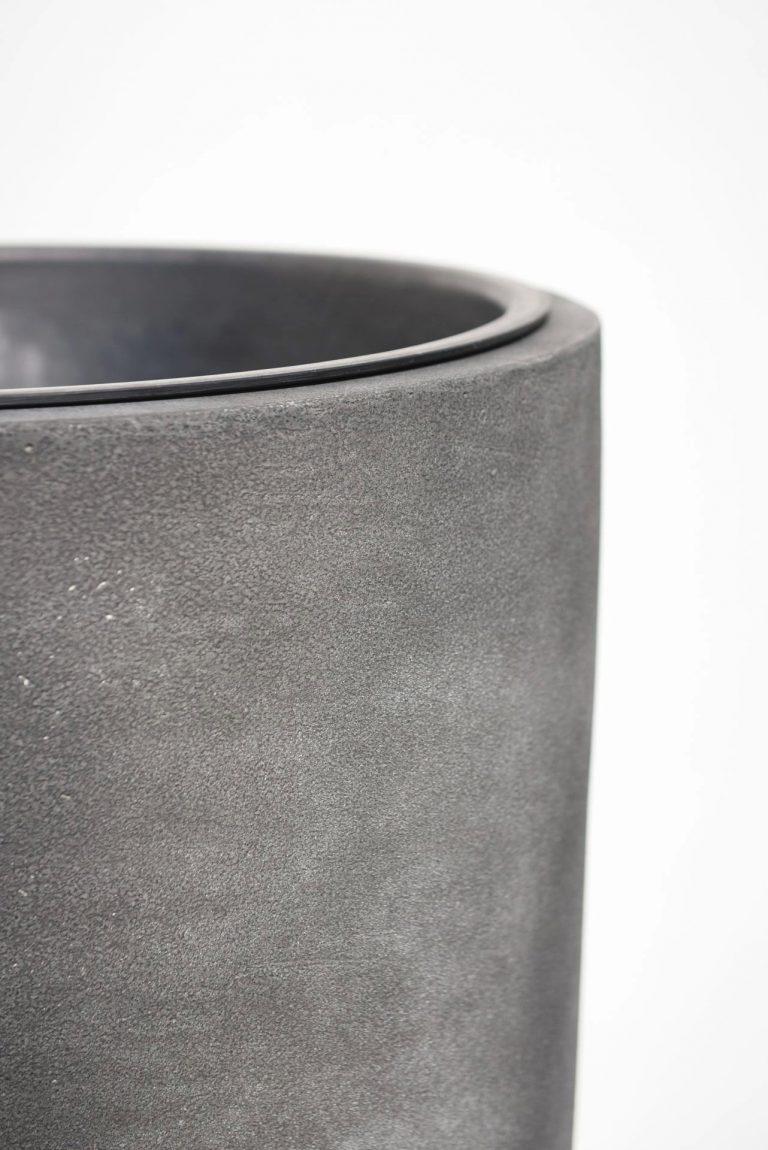 Напольное кашпо pflanzgefaess-fiberglas-rosegold-metallic-exklusiv-city-36-min