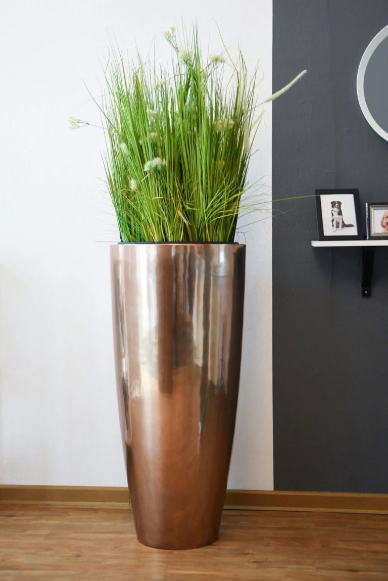 Напольное кашпо pflanzgefaess-fiberglas-rosegold-metallic-exklusiv-city-1-min